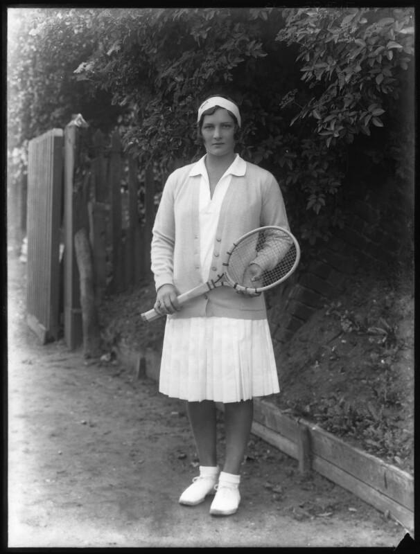 Helen Hull Jacobs, by Bassano Ltd, 1929 - NPG x19498 - © National Portrait Gallery, London