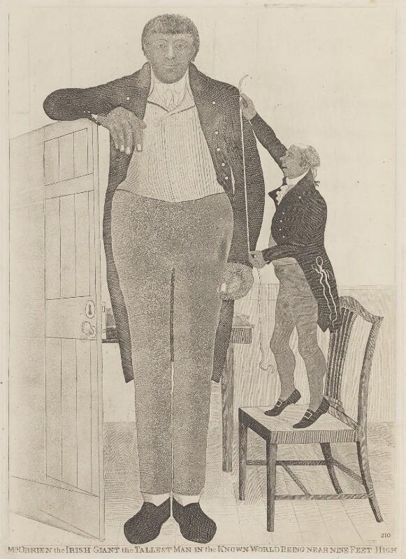 Patrick Cotter (Patrick O'Brien), by John Kay, 1803 - NPG D14754 - © National Portrait Gallery, London