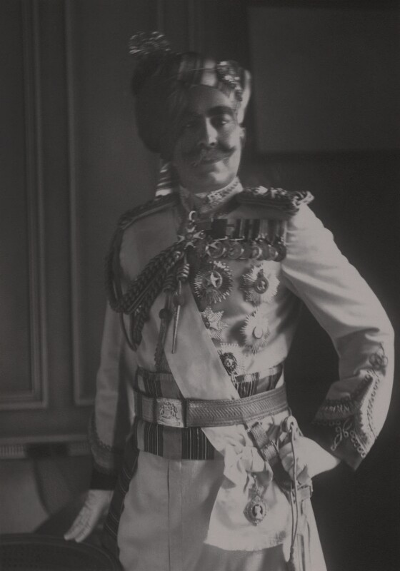 Ganga Singh, Maharaja of Bikaner, by Walter Stoneman, 1930 - NPG x165187 - © National Portrait Gallery, London