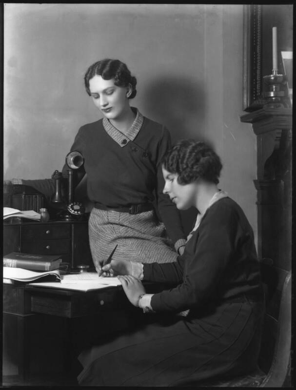 Hon. Betty Ellen Askwith, by Bassano Ltd, 3 March 1931 - NPG x37144 - © National Portrait Gallery, London