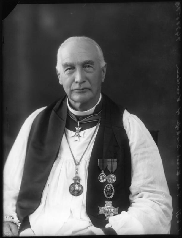 Arthur Foley Winnington-Ingram, by Bassano Ltd, 1 June 1931 - NPG x21908 - © National Portrait Gallery, London