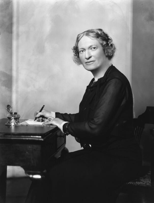 Mary Catharine Inge (née Spooner), by Bassano Ltd, 3 July 1931 - NPG x19213 - © National Portrait Gallery, London