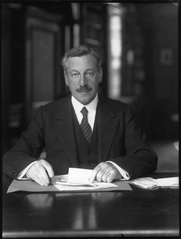 NPG x34470; Herbert Louis Samuel, 1st Viscount Samuel - Portrait - National Portrait Gallery