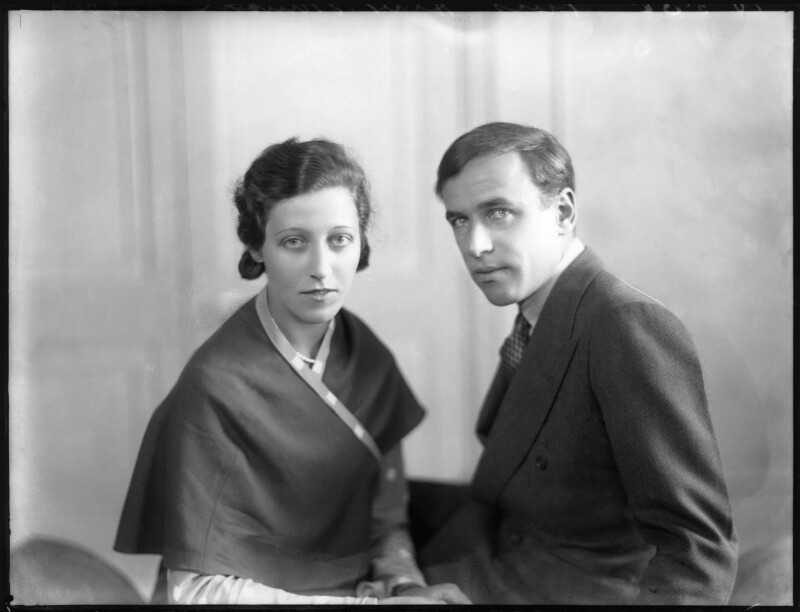 Amy Johnson; James Allan Mollison, by Bassano Ltd, 10 May 1932 - NPG x81182 - © National Portrait Gallery, London