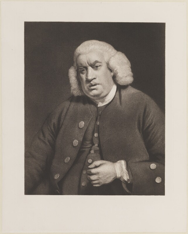 Samuel Johnson, after Sir Joshua Reynolds, (1772-1778) - NPG D14796 - © National Portrait Gallery, London