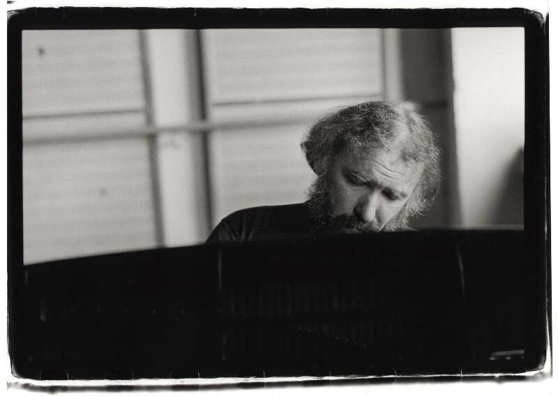 Radu Lupu, by Marion Kalter, 1996 - NPG x126121 - © Marion Kalter