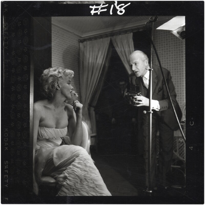 Marilyn Monroe; Cecil Beaton, by Ed Pfizenmaier, 22 February 1956 - NPG x40283 - © Ed Pfizenmaier