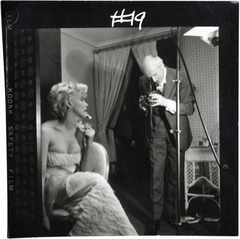 Marilyn Monroe; Cecil Beaton, by Ed Pfizenmaier, 22 February 1956 - NPG x40284 - © Ed Pfizenmaier