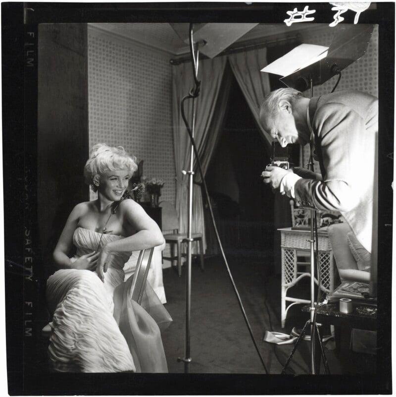 Marilyn Monroe; Cecil Beaton, by Ed Pfizenmaier, 22 February 1956 - NPG x40285 - © Ed Pfizenmaier