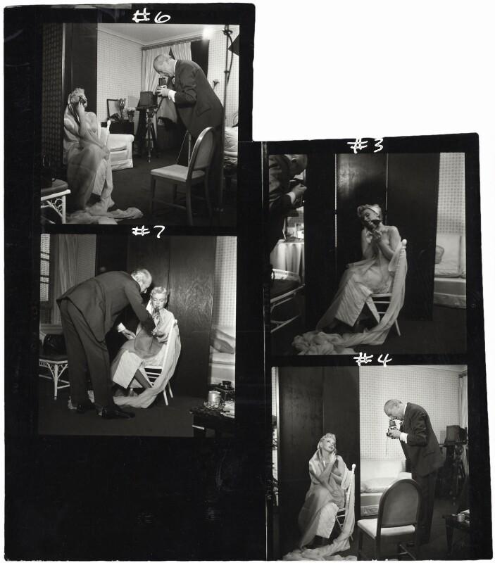 Marilyn Monroe; Cecil Beaton, by Ed Pfizenmaier, 22 February 1956 - NPG x40282 - © Ed Pfizenmaier