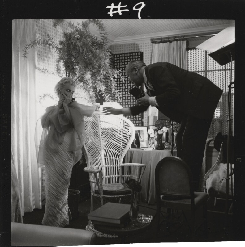 Marilyn Monroe; Cecil Beaton, by Ed Pfizenmaier, 22 February 1956 - NPG x40280 - © Ed Pfizenmaier
