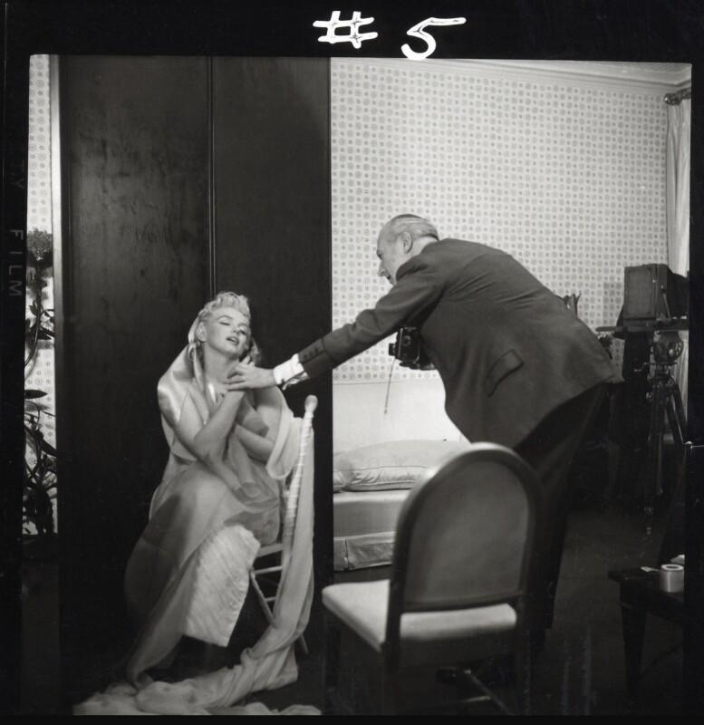 Marilyn Monroe; Cecil Beaton, by Ed Pfizenmaier, 22 February 1956 - NPG x40279 - © Ed Pfizenmaier