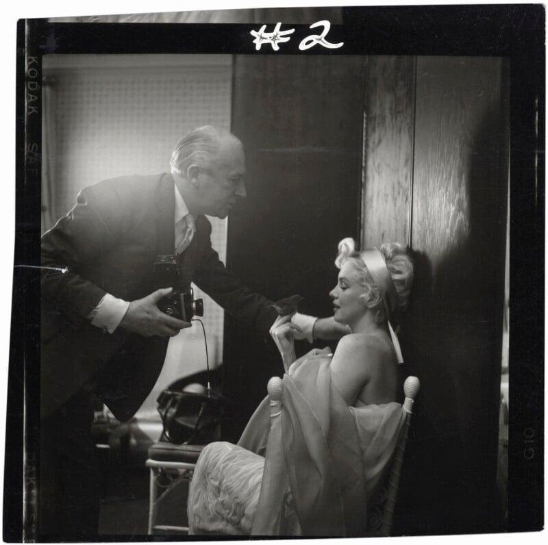 Marilyn Monroe; Cecil Beaton, by Ed Pfizenmaier, 22 February 1956 - NPG x40278 - © Ed Pfizenmaier