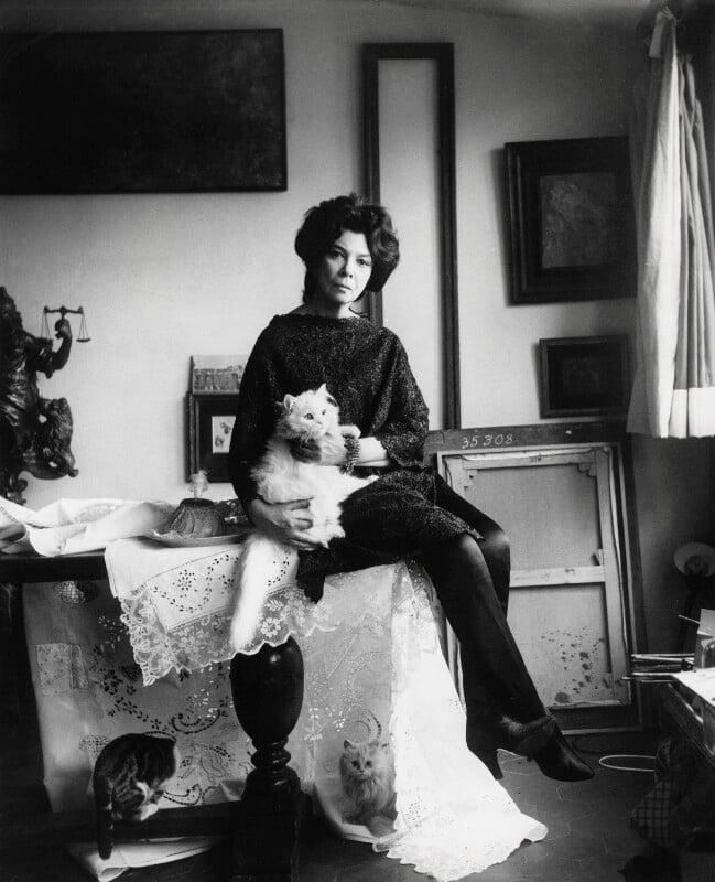 Leonor Fini, by Cecil Beaton, 1965 - NPG x40097 - © Cecil Beaton Studio Archive, Sotheby's London