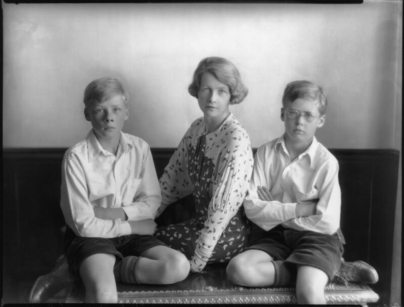 The Huxley family, by Bassano Ltd, 19 September 1934 - NPG x81209 - © National Portrait Gallery, London