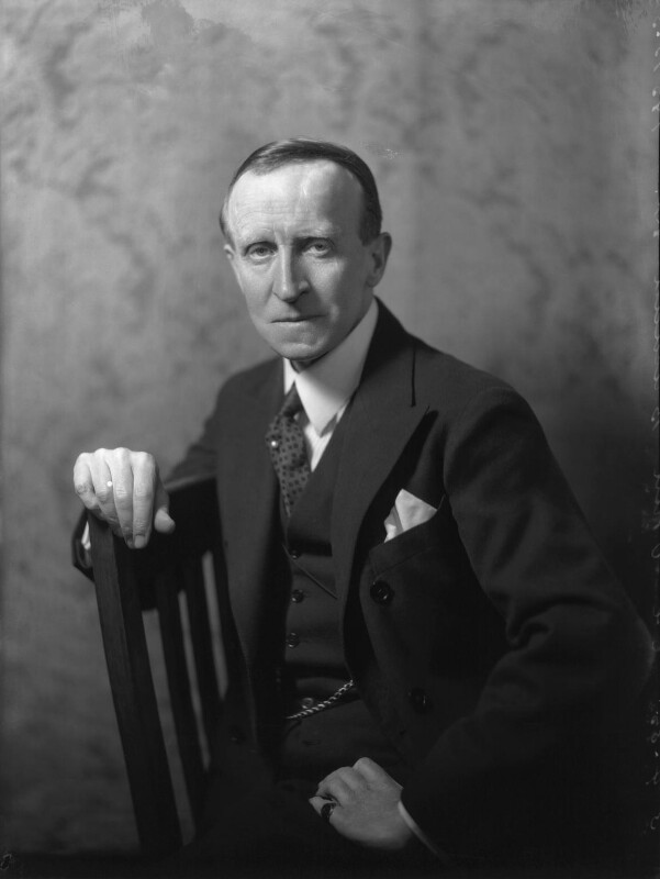 John Buchan, 1st Baron Tweedsmuir, by Bassano Ltd, 3 April 1935 - NPG x34299 - © National Portrait Gallery, London