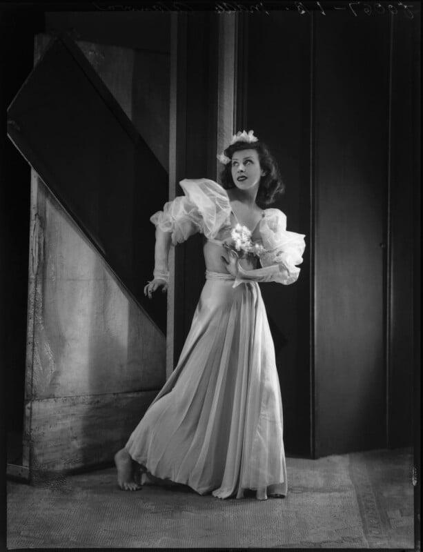 Kyra Alanova, by Bassano Ltd, 19 July 1935 - NPG x34451 - © National Portrait Gallery, London