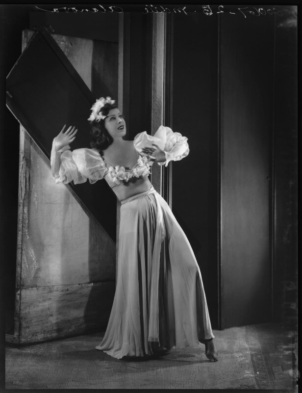 Kyra Alanova, by Bassano Ltd, 19 July 1935 - NPG x34452 - © National Portrait Gallery, London