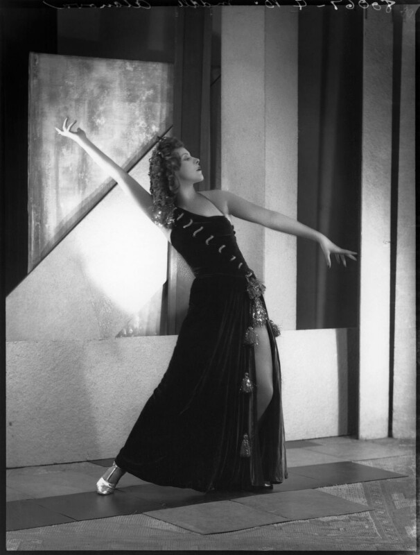 Kyra Alanova, by Bassano Ltd, 19 July 1935 - NPG x34454 - © National Portrait Gallery, London