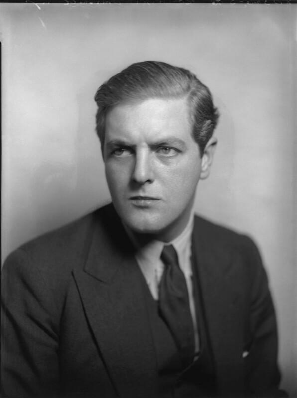 Randolph Frederick Edward Spencer Churchill, by Bassano Ltd, 1935 - NPG x81254 - © National Portrait Gallery, London