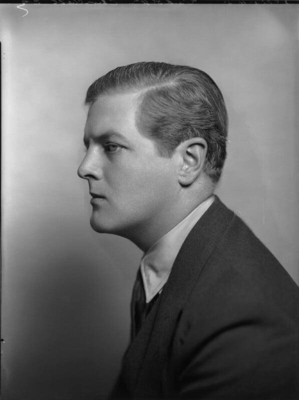 Randolph Frederick Edward Spencer Churchill, by Bassano Ltd, 1935 - NPG x81255 - © National Portrait Gallery, London