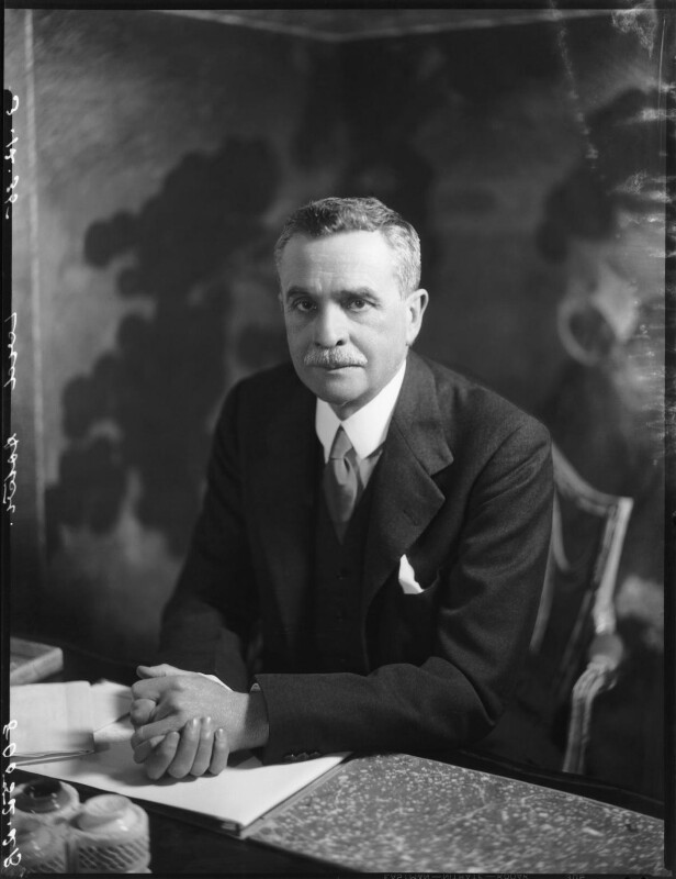 Waldorf Astor, 2nd Viscount Astor, by Bassano Ltd, 3 December 1935 - NPG x31170 - © National Portrait Gallery, London