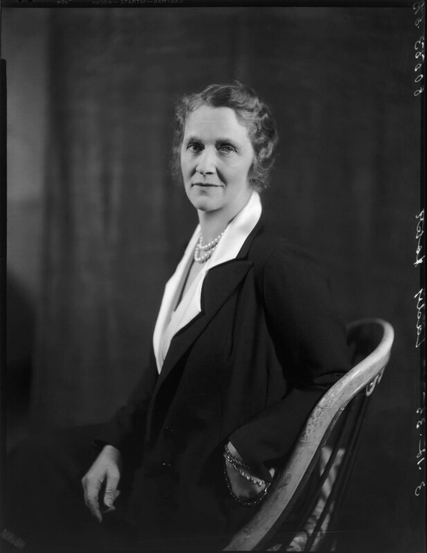 Nancy Astor, Viscountess Astor, by Bassano Ltd, 3 December 1935 - NPG x31176 - © National Portrait Gallery, London