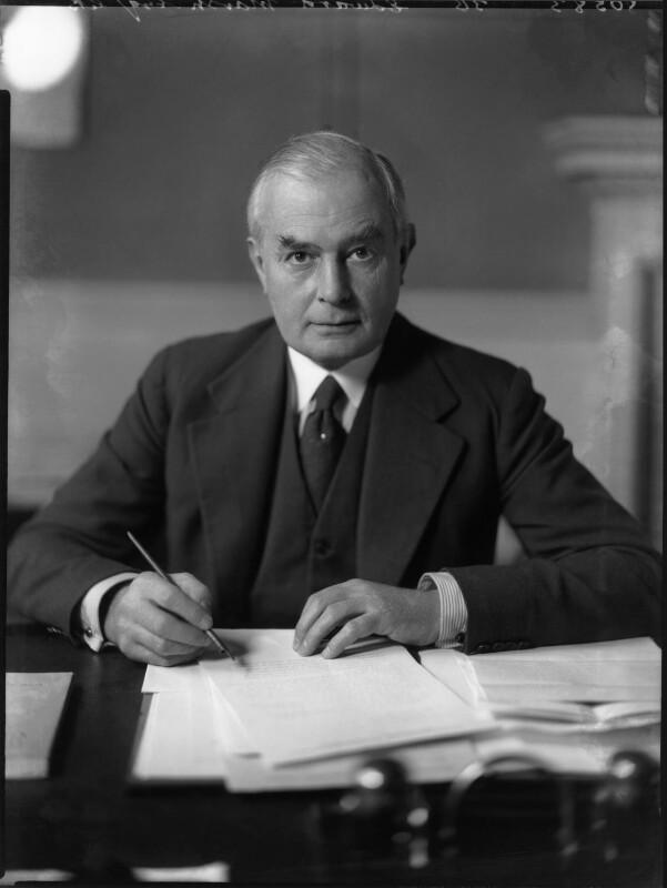Sir Edward Howard Marsh, by Bassano Ltd, 11 December 1935 - NPG x81259 - © National Portrait Gallery, London