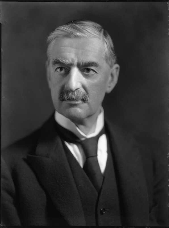 Neville Chamberlain, by Bassano Ltd, 3 February 1936 - NPG x81269 - © National Portrait Gallery, London