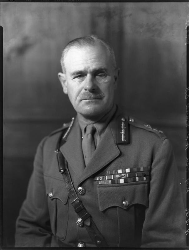 Archibald Percival Wavell, 1st Earl Wavell, by Bassano Ltd, 19 November 1936 - NPG x81299 - © National Portrait Gallery, London