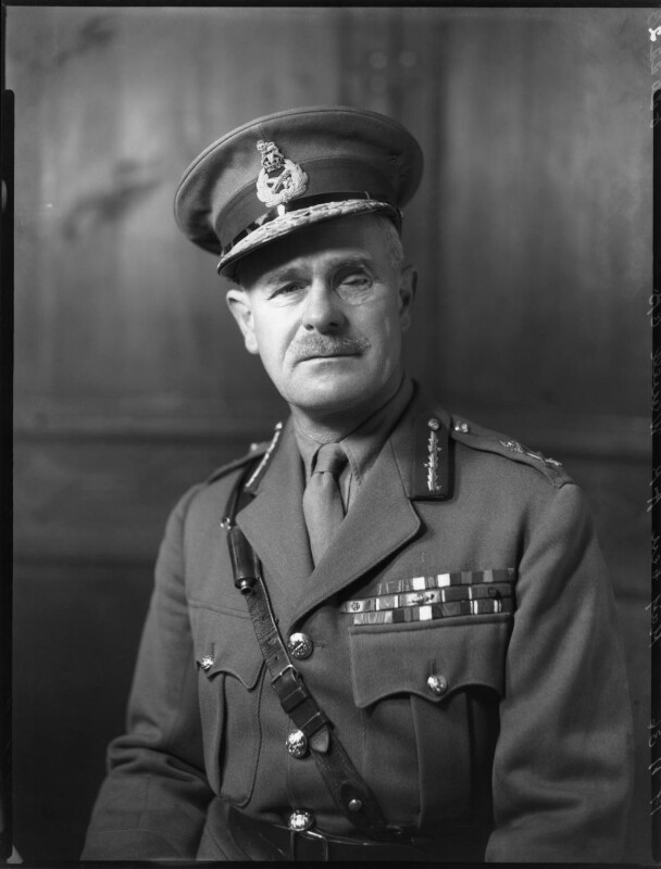 Archibald Percival Wavell, 1st Earl Wavell, by Bassano Ltd, 19 November 1936 - NPG x81300 - © National Portrait Gallery, London