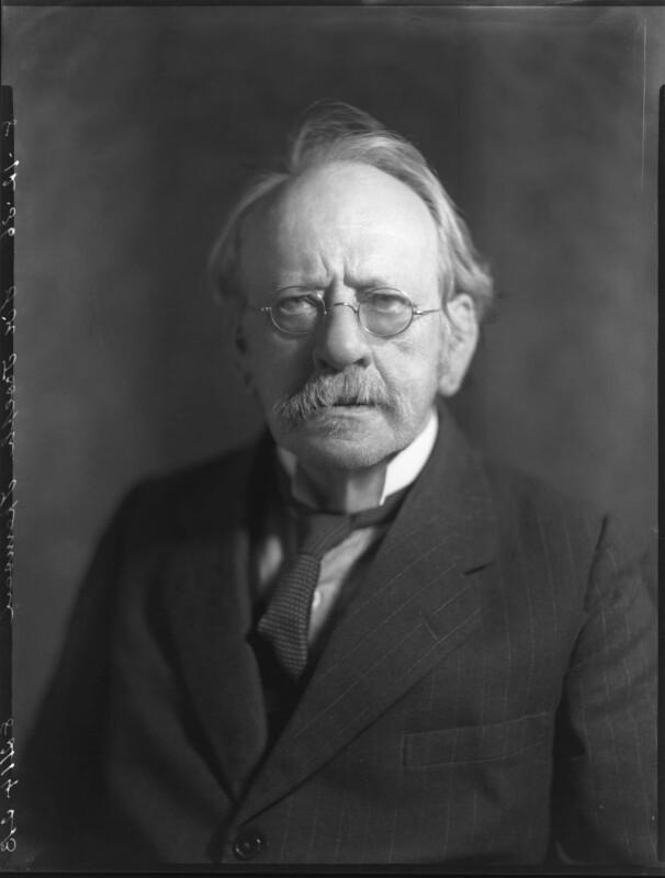 Sir Joseph John Thomson, by Bassano Ltd, 8 December 1936 - NPG x81301 - © National Portrait Gallery, London