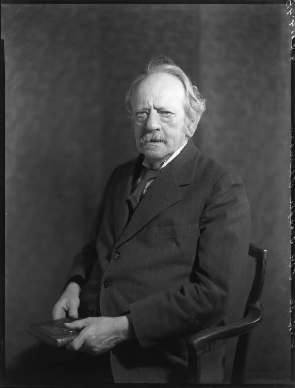Sir Joseph John Thomson, by Bassano Ltd, 8 December 1936 - NPG x81302 - © National Portrait Gallery, London