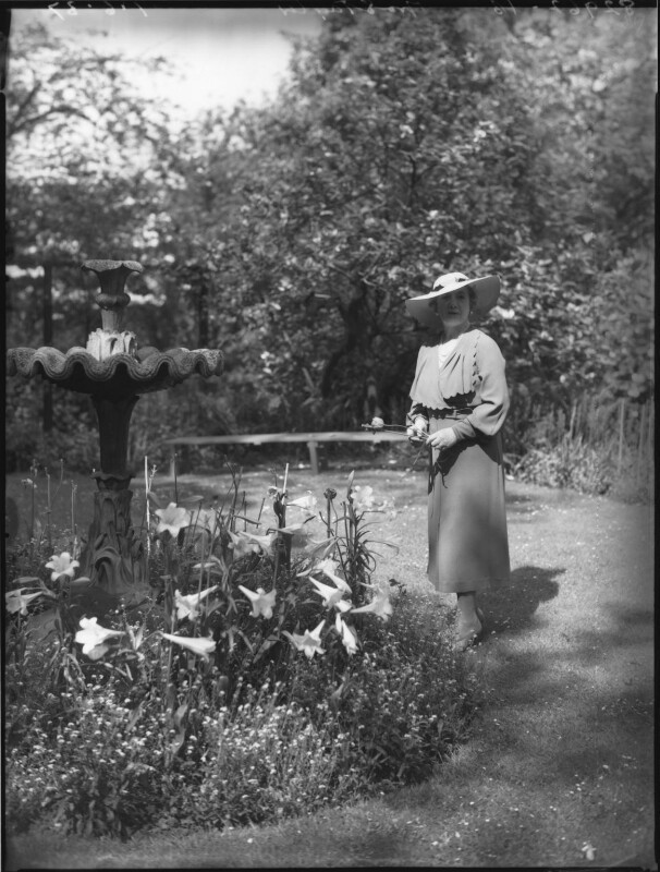 Rose Isabel (née Campbell), Lady Taylor, by Bassano Ltd, 1 June 1937 - NPG x37151 - © National Portrait Gallery, London