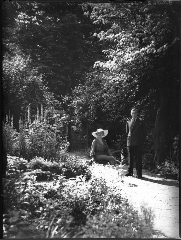 Rose Isabel (née Campbell), Lady Taylor; Sir Ernest Augustus Taylor, by Bassano Ltd, 1 June 1937 - NPG x37153 - © National Portrait Gallery, London