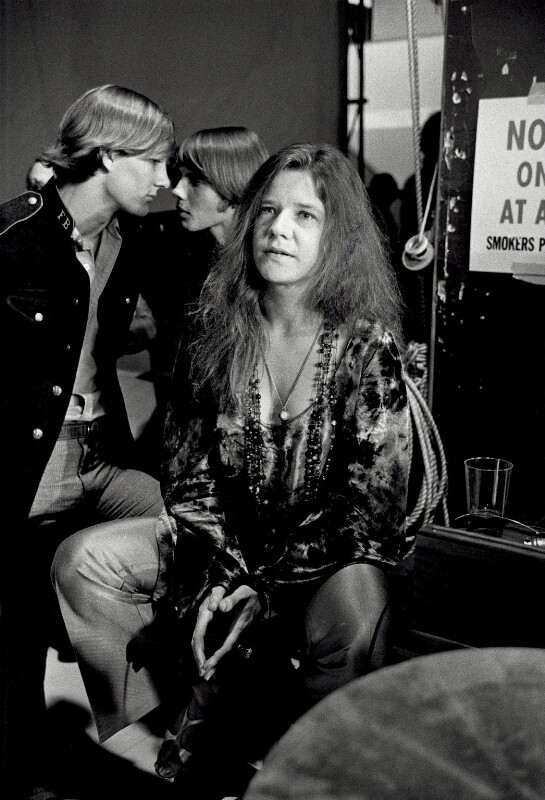 Janis Joplin, by Terry O'Neill, September 1969 - NPG x126143 - © Iconic IMages/Terry O'Neill