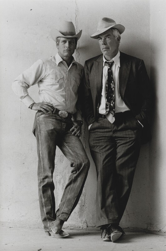 Paul Newman; Lee Marvin, by Terry O'Neill, 1971 - NPG x126146 - © Iconic IMages/Terry O'Neill