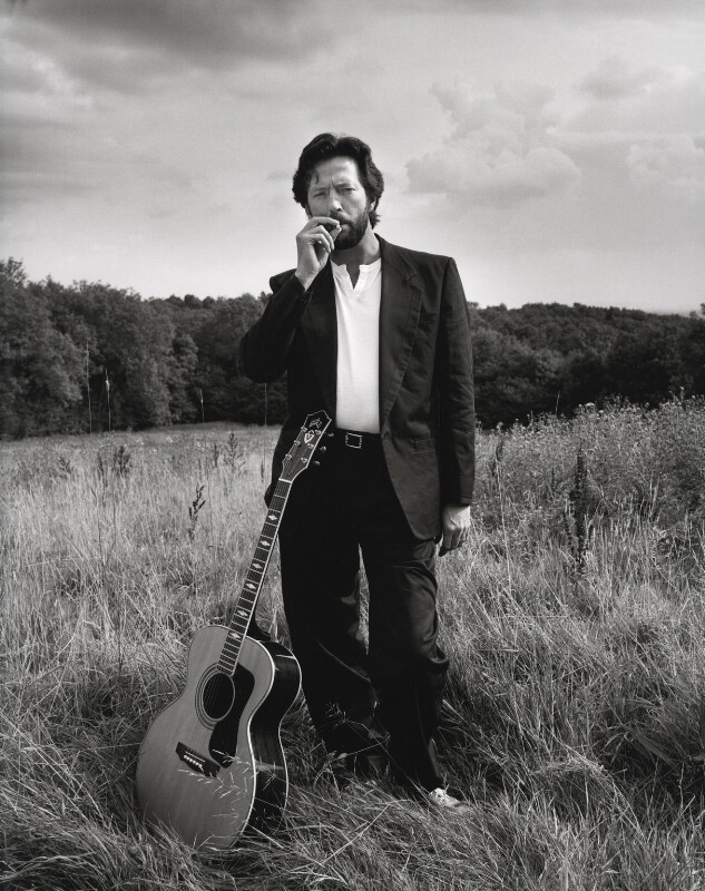 Eric Clapton, by Terry O'Neill, 1993 - NPG x126164 - © Iconic IMages/Terry O'Neill