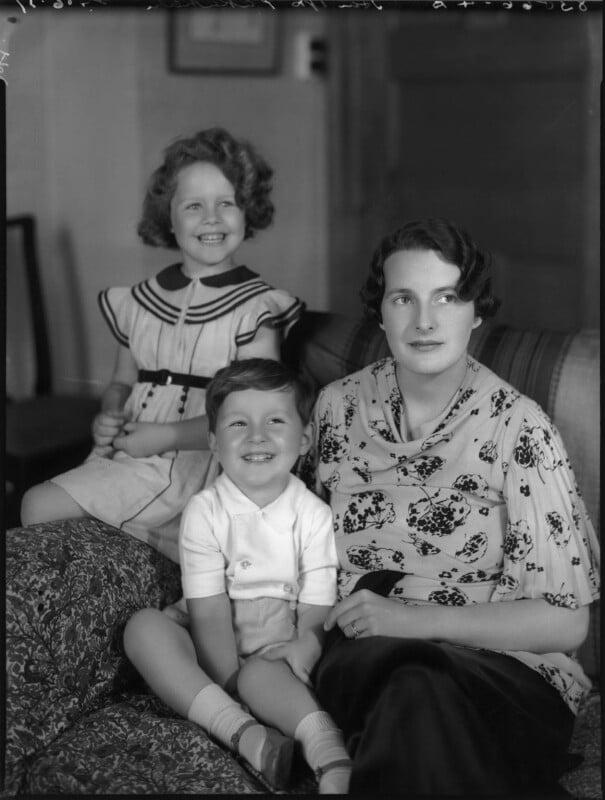 'The Pakenham family', by Bassano Ltd, 24 June 1937 - NPG x80942 - © National Portrait Gallery, London