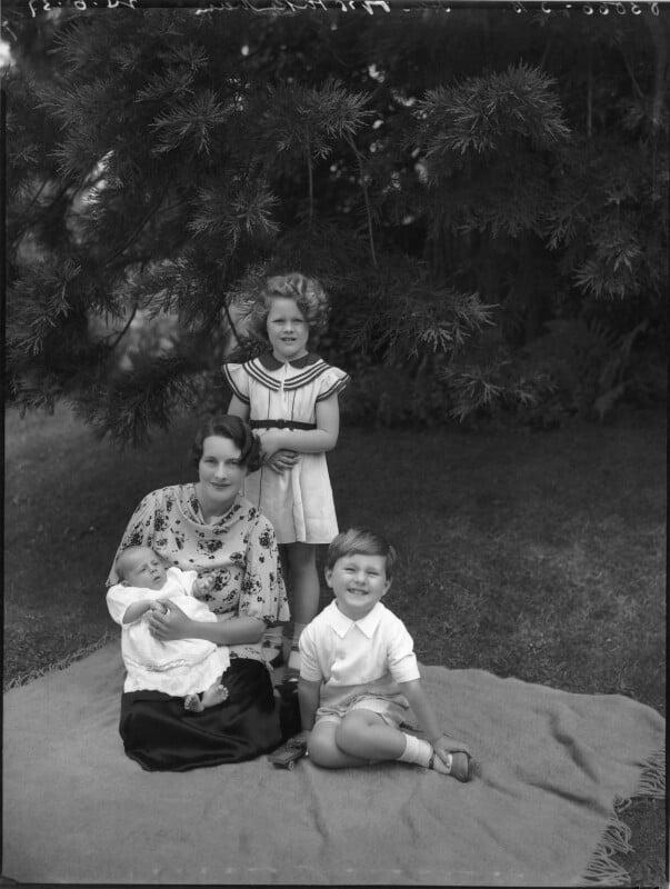 'The Pakenham family', by Bassano Ltd, 24 June 1937 - NPG x80943 - © National Portrait Gallery, London