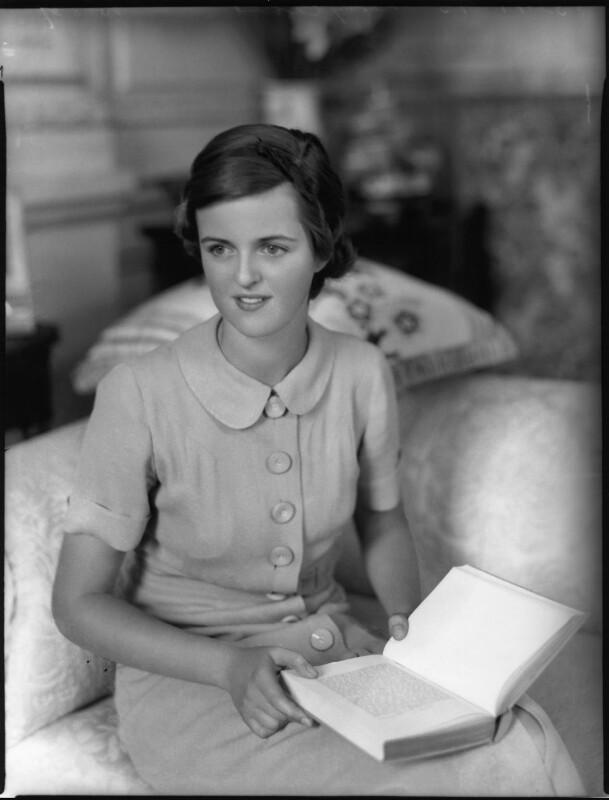 Lady Sarah Consuelo Roubanis (née Spencer-Churchill), by Bassano Ltd, 10 August 1937 - NPG x80985 - © National Portrait Gallery, London