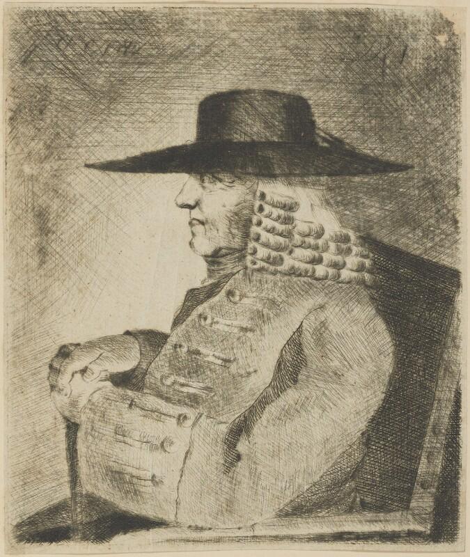John Byrom, by Dorning Rasbotham, mid 18th century - NPG D18110 - © National Portrait Gallery, London
