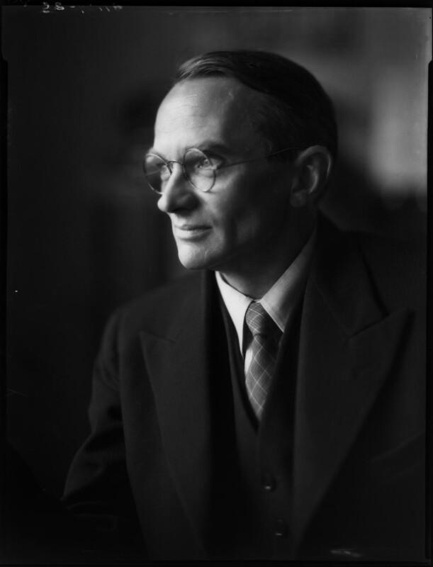Arthur Newall, by Bassano Ltd, 10 July 1940 - NPG x37351 - © National Portrait Gallery, London