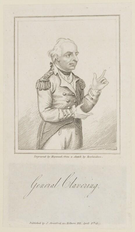 Henry Mordaunt Clavering, by James Hopwood Sr, published by  James Stratford, after  Thomas Rowlandson, published 8 April 1809 - NPG D15048 - © National Portrait Gallery, London