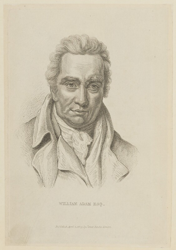 William Adam, published by James Cundee, probably after  John Opie, published 1 April 1809 - NPG D15055 - © National Portrait Gallery, London