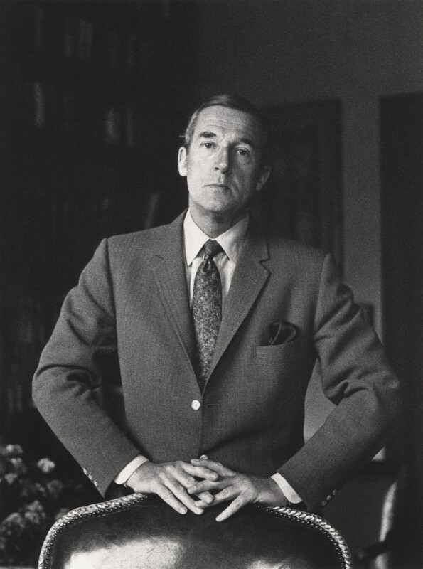 Sir Hardy Amies, by Godfrey Argent, 27 May 1968 - NPG x52 - © National Portrait Gallery, London