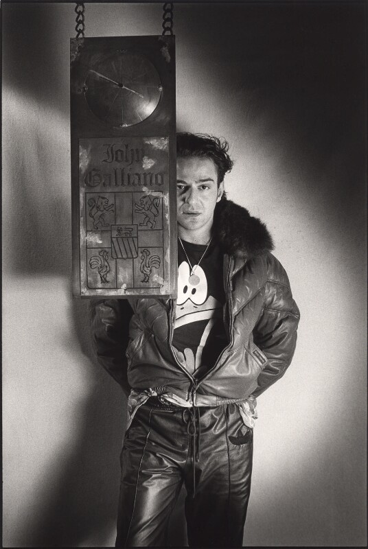 John Charles Galliano, by Barry Marsden, 1990 - NPG x39363 - © Barry Marsden