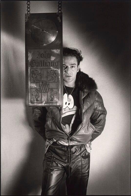 John Charles Galliano, by Barry Marsden, 1990 - NPG x39363 - © Barry Marsden