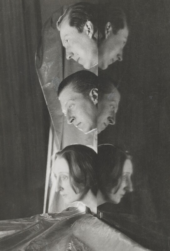Sir Osbert Sitwell; Sir Sacheverell Sitwell, 6th Bt; Edith Sitwell, by Cecil Beaton, 1927 - NPG x40365 - © Cecil Beaton Studio Archive, Sotheby's London