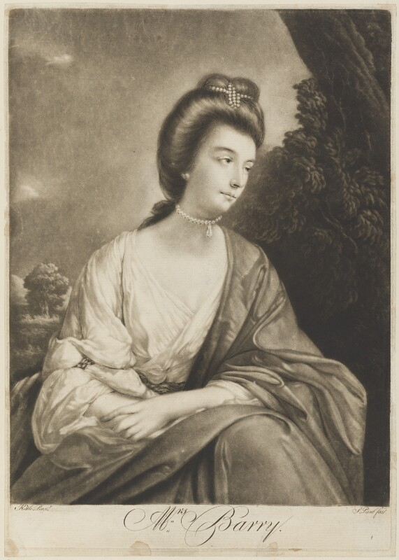 Anne Crawford (née Street), by P. or S. Paul (Samuel de Wilde?), after  Tilly Kettle, 1770s - NPG D15162 - © National Portrait Gallery, London